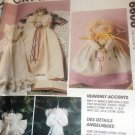 McCall's Crafts 6608 Angel Ornaments Dolls Holiday  Sewing Pattern