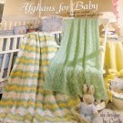 Knit and Crochet Baby Afghans Pattern Leisure Arts 916