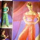 Uncut Harem Girl Dream of Jeannie Costume Simplicty 3626 Sewing Pattern All Sizes
