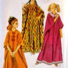 Simplicity 8354 Sewing Pattern 1969 Misses' Caftan Proportioned in Height