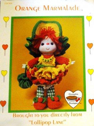 Ruffled Sleeveless Crocheted Sweater & Skirt for 18-inch Dolls