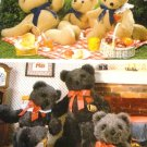 The Three Bears stuffed bear animals Butterick Crafts Sewing Pattern 5627