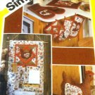 Simplicity 6144 Kitchen Chicken Accessories Sewing Pattern
