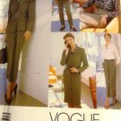 Vogue Wardrobe Sewing Pattern 1999 Tamotsu Blazer, skirt, slacks, top, dress size 14,16, 18