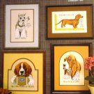 Dogs Puppies Man's Best Friend Cross Stitch Pattern Boxer Dachshund Beagle St. Bernard