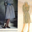 Ralph Lauren Vogue Sewing Pattern American Designers 2716 size 10 Shirtwaist Dress