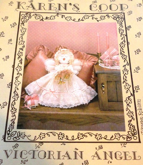 Victorian Angel Christmas Heirloom Pillow Doll Sewing Pattern