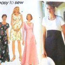 Simplicity 9675 Summer petite Dress in 3 lengths with sleeve variations Size 6,8, 10