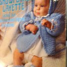 Crochet Snowflake Layette Pattern for Baby Leisure Arts 59