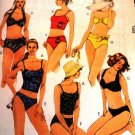 Misses Swimsuits Bathing Suits 2 piece SIZE 10 McCall's 2772 Sewing Pattern