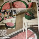McCall's Crafts 6475 Watermelon Patch Sewing Pattern  Coaster, Pot holders, Napkins,