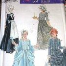 Simplicity 5042 Costume Sewing Pattern Size S M L Child Pilgrim Centennial Prairie 18th 19th Century