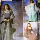 Simplicity Costume Renaissance Gothic Gowns Sewing Pattern Size 14 16 18 20 Simplicity 9891