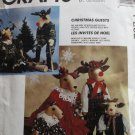 McCall's Crafts P252 Reindeer Dolls Doll Family Sewing Pattern