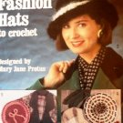 Fashion Hats to Crochet Pattern Leisure Arts 2112 Beanie, Beret, Topper
