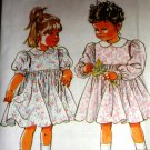 Simplicity Child's dress Sewing Pattern Number 7700 Child size 3  24 lbs