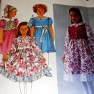 Simplicity Child's Dress with Vest Sewing Pattern 8147 size 2 - 4