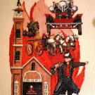 Fireman Cross Stitch pattern booklet Puckerbrush, Inc.