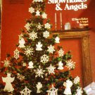 Christmas Angels Snowflakes Crochet Pattern Leisure Arts Leaflet 255