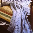 Touch of Romance Afghans Crochet Pattern Leisure Arts 2801 7 Designs by Carol Prior