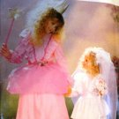 Fairy Princess Bride Halloween Costume Pattern For Child sizes 2 through 14 Butterick 6851