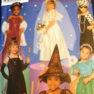 Simplicity Halloween Costume Pattern 5409 For Child sizes 3 through 8 Bride Witch Fairy