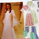 Sewing Pattern Junior Bridesmaid Girl Formal Top Long Skirt Gown Size 12 14 16 McCall's 4246