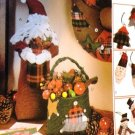 McCall's Crafts 8328 Christmas Wreath Ornaments Stocking Centerpieces Sewing Pattern