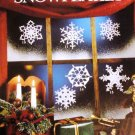 Christmas Snowflakes Crochet Pattern Leisure Arts Leaflet 892