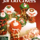 Christmas Jar Lid Covers Crochet Pattern Leisure Arts Leaflet 751