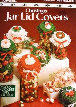 Mason Jar Lid Covers Crochet Pattern | Needle a