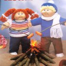 "Cabbage Patch clothing to knit for 16"" Soft Sculpture Dolls Leisure Arts 368"