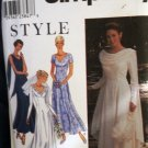 Bridal Gown and Bridesmaid Fit and Flair Design Simplicity 9162 size 8-18
