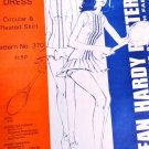 Tennis Dress Sewing Pattern Jean Hardy 370 sizes 6 -16 Circular or Pleated Skirt