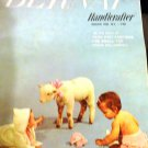 Big Book of Hand Knits Fashions for Baby Bernat Handicrafter Book 57 Layettes, baby Afghans