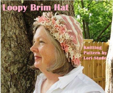 Loopy Hat Knitting Pattern by LaStade PDF File