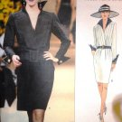 Vogue Sewing Pattern 1581 Yves Saint Laurent Dress size 8-10