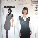 McCall's 8943 Sewing Pattern Jumper Blouse size 8
