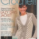 Crochet! Magazine March 2009 Crochet Patterns jacket, doily, afghan
