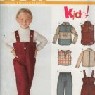 New Look 6234 Sewing Pattern Child Jacket, vest, pants, Size A 4-9