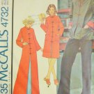 McCall's 4732 Chinese Jacket or Housecoat Sewing Pattern Uncut Size 14-16