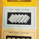 Huck Towel Swedish Weaving Patterns Mildred Krieg Series 1, 2, 3