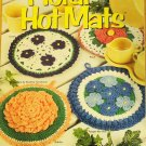 House of White Birches 101083 Crochet Floral Hot Mats Pot Holders
