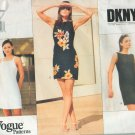 Vogue 1809 Misses' Fitted Dress by American Designer DKNY Sizes 14-16-18