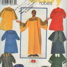 """Simplicity 7336 Design Your Own Robes Sewing Pattern Choir Graduation size XS-S-M-L-XL chest 30""""-48"""""""