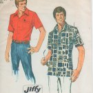 Simplicity 6368 Sewing Pattern - Mens safari style shirt - size 34-36