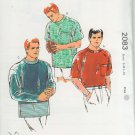 Kwik - Sew 2083 Classic Men's Crewneck T-Shirt Pattern sizes  small - extra large