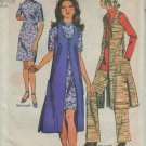 Simplicity 9193 Midi Vest Coat Mini Dress, Tunic & Pants Pattern Size 16 bust 38, waist 29