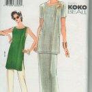 Vogue 7447 KOKO BEAL Tunic Skirt Pants sewing pattern sizes 18 20 22