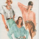Vogue 9880 Top, blouse sewing pattern sizes 14 16 18